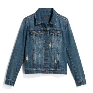 Articles of Society - Shae distressed denim jacket